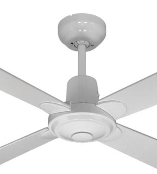 ALPHA WHITE FAN ONLY CLOSE UP