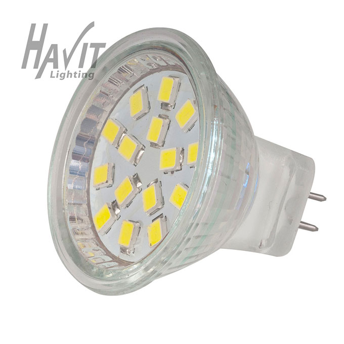 HV9311 - LED 1.2W MR11 COOL WHITE 6000K GLOBE