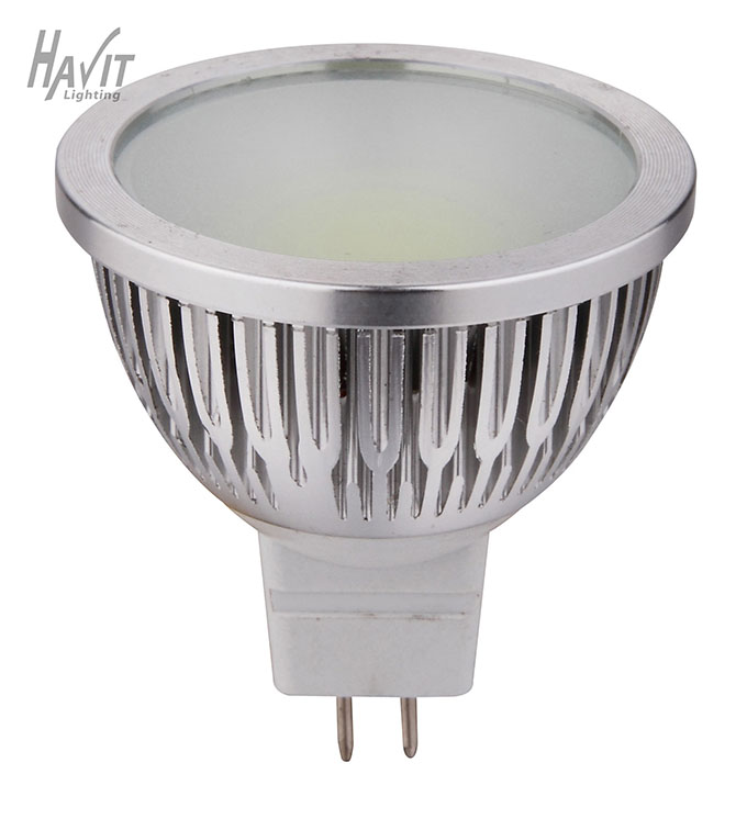 HV9557G - LED 5W MR16 COB GREEN GLOBE