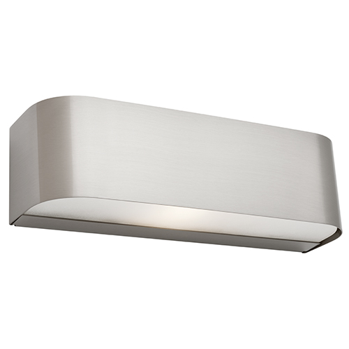 BENSON 1LT WALL LIGHT SATIN CHROME