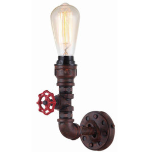 STEAM 1LT WALL LIGHT