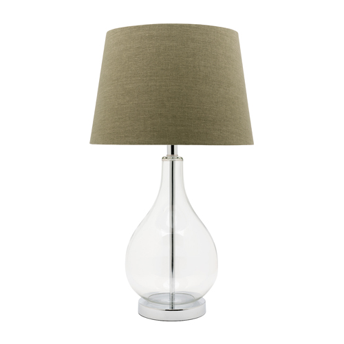 GINA TABLE LAMP GREEN
