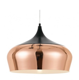 POLK LARGE COPPER PENDANT