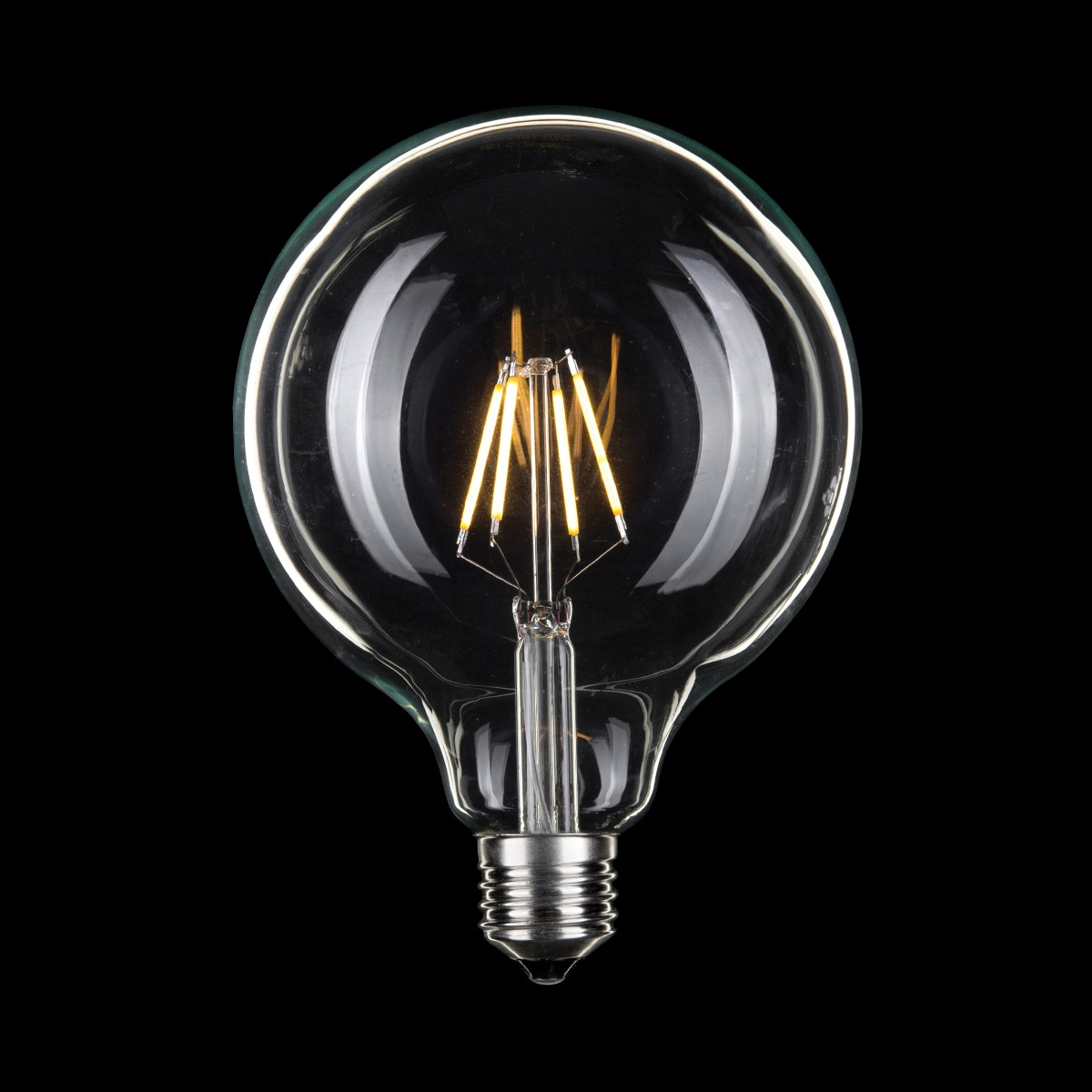 LED G125 SPHERICAL CARBON FILAMENT GLOBE