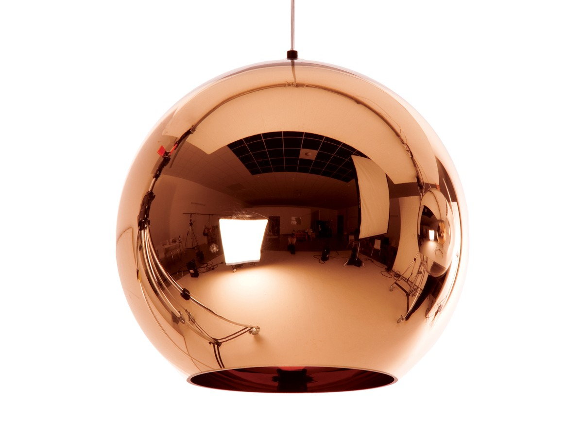 REPLICA TOM DIXON GLASS COPPER PENDANT