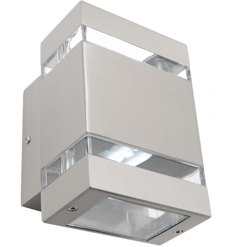 HEDLAND 2LT SQUARE EXTERIOR LIGHT