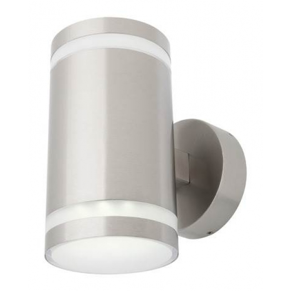 CARRARA LED 2LT EXTERIOR WALL LIGHT