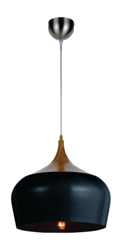 POLK 30 METAL PENDANT BLACK