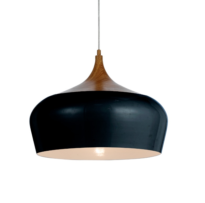 POLK 46 METAL PENDANT BLACK