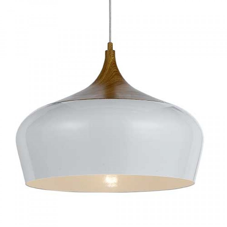 POLK 46 METAL PENDANT WHITE