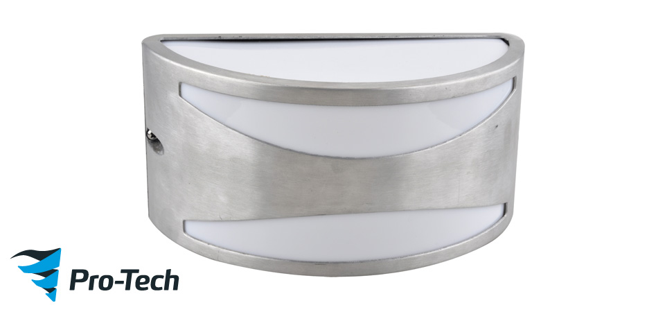 MALAGA 304 S/S EXTERIOR WALL LIGHT