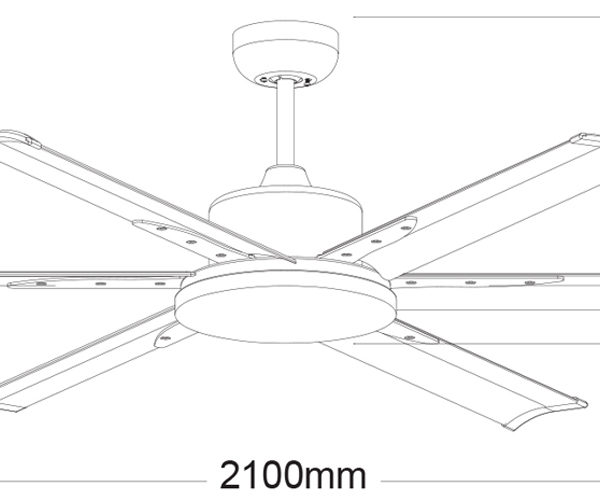 Martec-Albatross-MAFM-Ceiling-Fan-Line-Drawing
