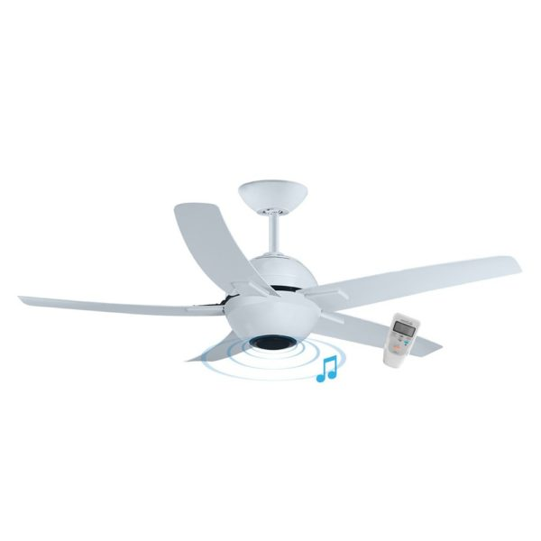 """Bluetooth Ceiling Fan: SYMPHONY 56"""" CEILING FAN WITH ABS BLADES, BLUETOOTH"""